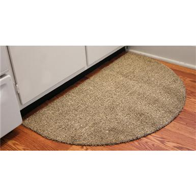 "Bungalow Flooring® Dirtstopper 24x39"" Half-round Absorbent Door Mat"