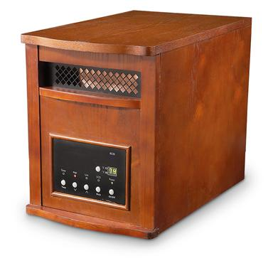 LifeSmart® 1800 Infrared Electric Heater; New & Improved powerful heating capacity