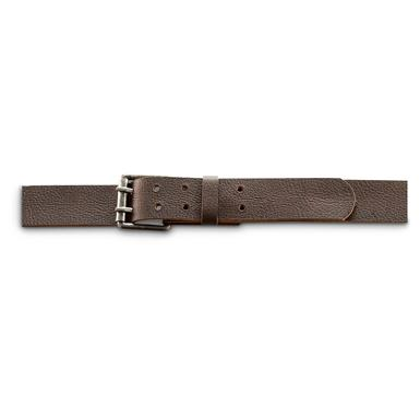 Leather Island® Double-Prong Belt, Brown