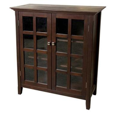 Acadian Medium Storage Unit, Dark Espresso