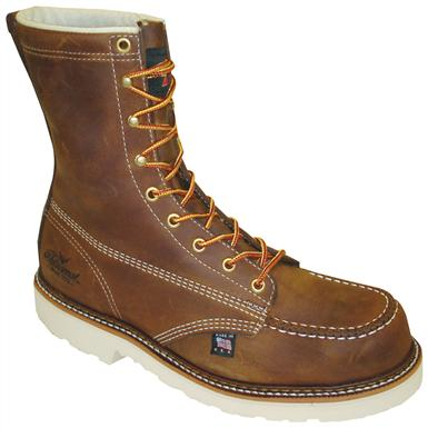 Men's Thorogood® 6 inch Steel Toe Work Boots, Brown
