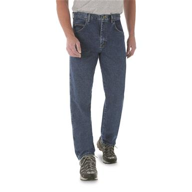 Wrangler Rugged Wear® Men's Relaxed Fit Jeans, Antique Indigo