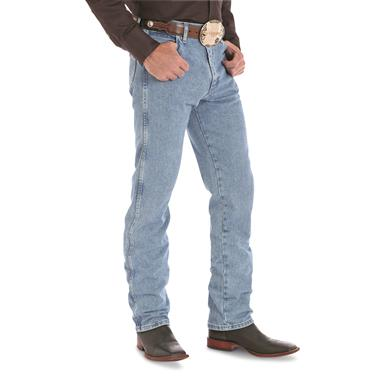Wrangler® Original-fit Cowboy-cut Western Jeans, Antique Wash