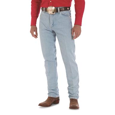 Wrangler® Original-fit Cowboy-cut Western Jeans, Bleach