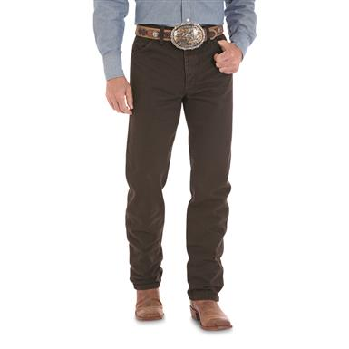 Wrangler® Original-fit Cowboy-cut Western Jeans, Black Chocolate