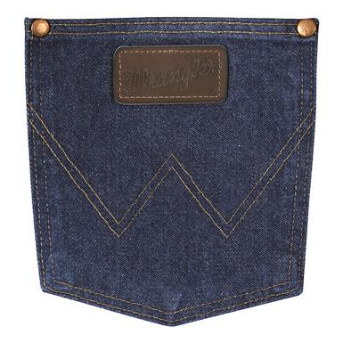 Pocket view, Prewashed Indigo