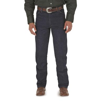Wrangler® Cowboy - cut Stretch Denim Jeans, Navy, Navy