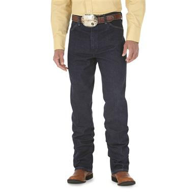 Men's Wrangler® Slim Fit Stretch Jeans, Navy