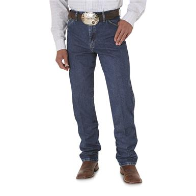 Wrangler® Original - fit George Strait Cowboy Cut® Denim Jeans, Washed Denim
