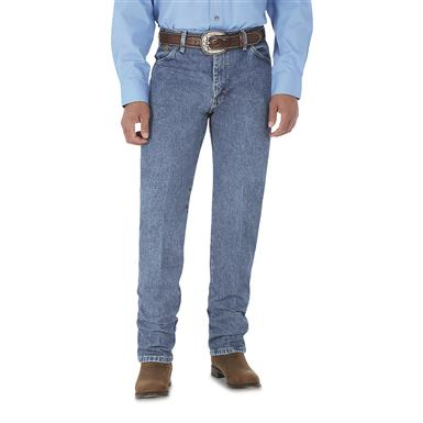 Wrangler® Original - fit George Strait Cowboy Cut® Denim Jeans, Washed Denim, Stonewashed