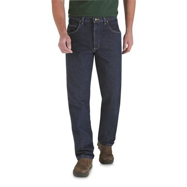 Men's Wrangler® Trail Trekker Relaxed Fit Jeans, Antique Navy