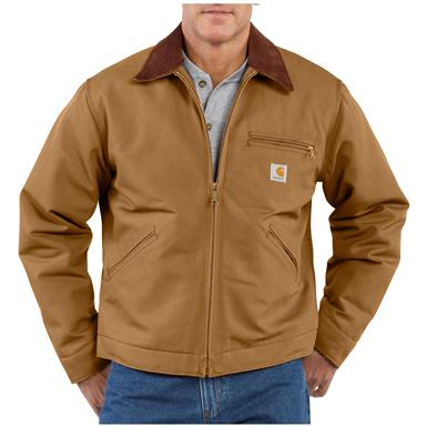 Men's Carhartt® Workwear Duck Detroit Jacket, Brown