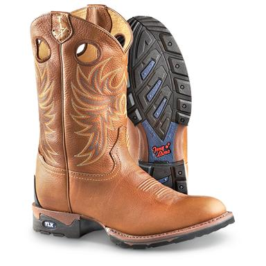 Men's Tony Lama® Colorado TLX 11 inch Pull-on Boots, Luggage Tan
