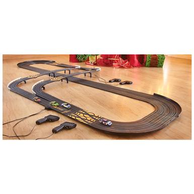NASCAR® 4-lane Challenge Slot Car Race Set
