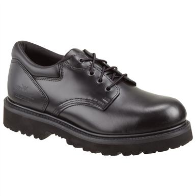 Men's Thorogood® Steel Toe Academy Uniform Oxfords, Black