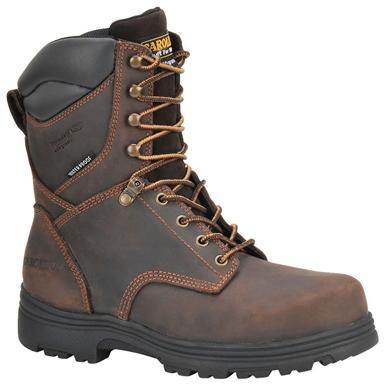 Men's Carolina® SVB 8 inch Waterproof 400-gram Thinsulate™ Insulated EH Work Boots, Gaucho