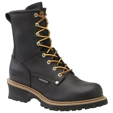 Men's Carolina® Steel Toe Waterproof Logger Work Boots