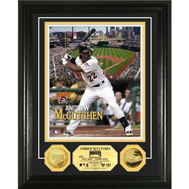 The Highland Mint® Andrew McCutchen Gold Coin Photo Mint