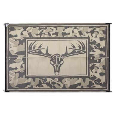 Guide Gear Trophy Outdoor Mat, 6 foot x 9 foot, Camo