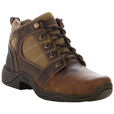 Women's Rocky® Barnstormer Waterproof Mid Hiking Boots, Brown / Khaki