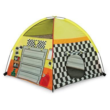 Pacific Play Tents® Pit Stop Garage Tent