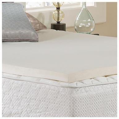 "Tranquil Sleep® 2"" Gel Memory Foam Topper with cover"