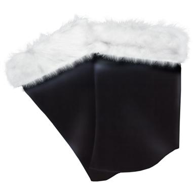 One Pair Sunnywood Santa Costume Leatherette Boot Tops