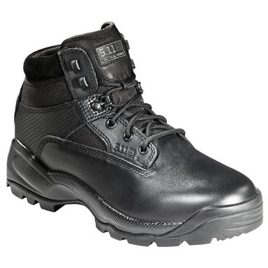 5.11 Tactical® A.T.A.C. 6 inch Side-zip Boots, Black