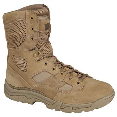 5.11 Tactical® 8 inch Coyote TacLite™ Boots, Coyote