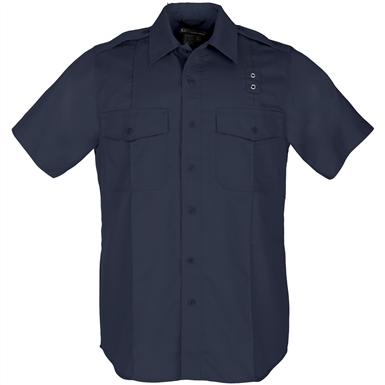 Women's 5.11 Tactical® Class A Taclite PDU Short-sleeved Shirt, Midnight Navy