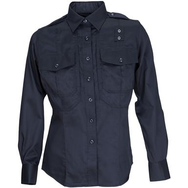 Women's 5.11 Tactical® Class B Taclite® PDU Long-sleeved Shirt, Midnight Navy