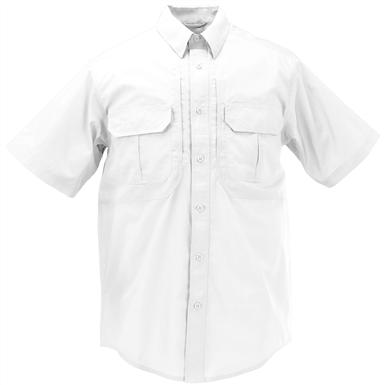 Men's 5.11 Tactical Taclite Pro Short Sleeve Shirt, White
