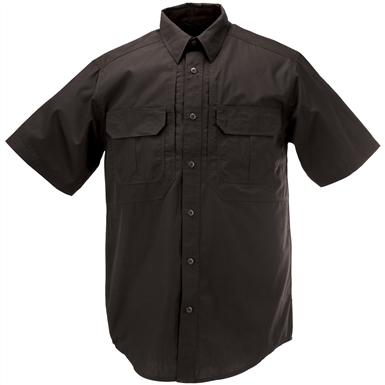 Men's 5.11 Tactical Taclite Pro Short Sleeve Shirt, Black