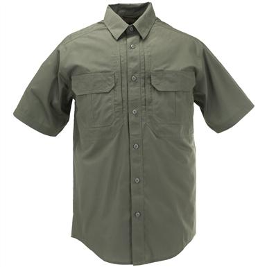 Men's 5.11 Tactical Taclite Pro Short Sleeve Shirt, TDU Green