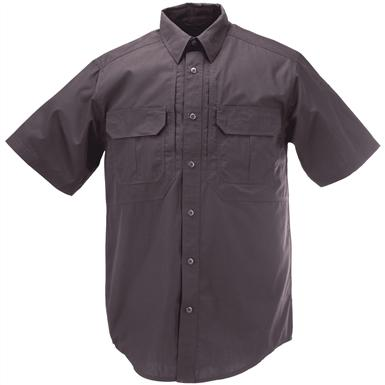 Men's 5.11 Tactical Taclite Pro Short Sleeve Shirt, Charcoal