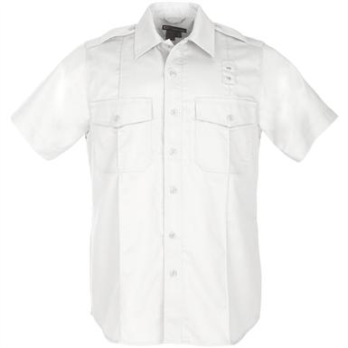 5.11 Tactical Class A Short-sleeved PDU Shirt, White