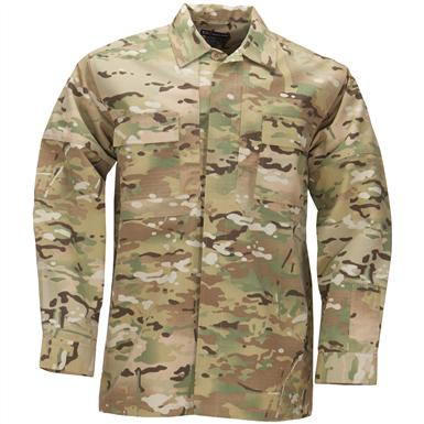 5.11 Tactical Multicam Long-sleeved Ripstop TDU Shirt