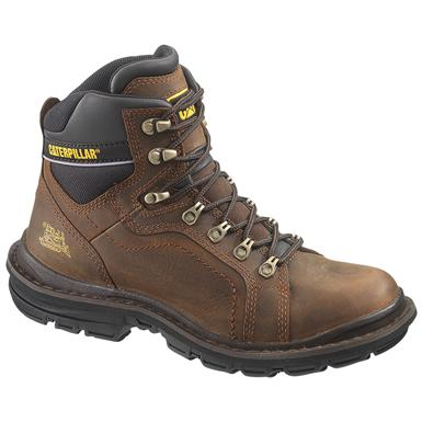 Men's CAT® 6 inch Manifold Work Boots, Oak