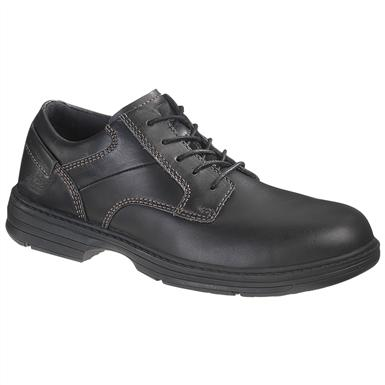 Men's CAT® Oversee Steel Toe Work Shoes, Black