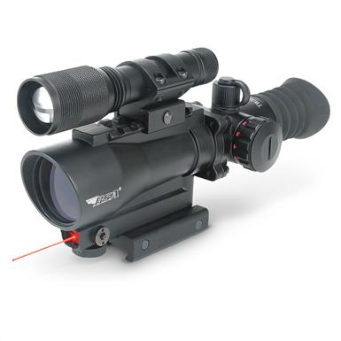 BSA® Tactical Sight / Laser / Flashlight Combo