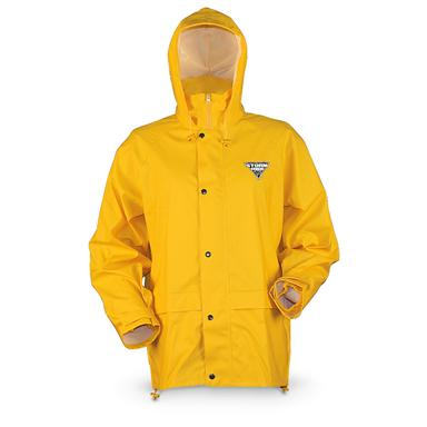 Gamehide Waterproof StormHide Down Pour Rain Jacket, Yellow