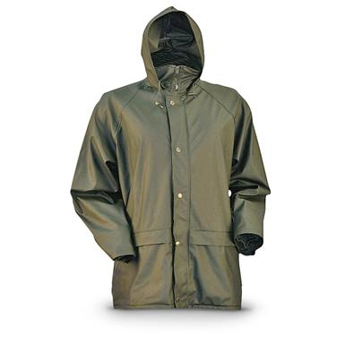 Gamehide Waterproof StormHide Down Pour Rain Jacket, Loden