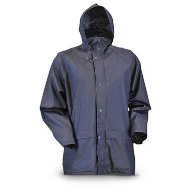 Gamehide Waterproof StormHide Down Pour Rain Jacket, Navy