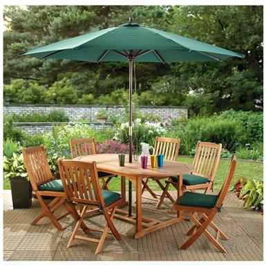 CASTLECREEK® Eucalyptus Dining Set