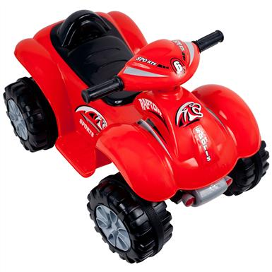Rockin' Rollers™ Rally Racer Battery-Powered 4x4 ATV, Red