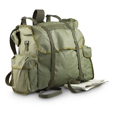New Belgian Military Waterproof Rucksack, Olive Drab