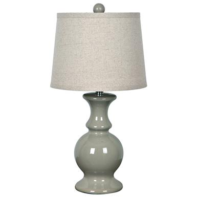 Crestview® Sand Dune Taupe Table Lamp