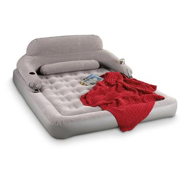 Includes back rest for kickin' back on the weekends!