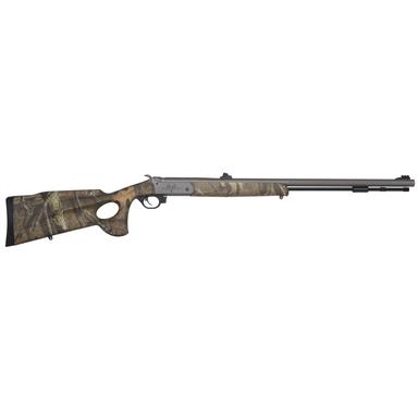 Traditions™ Pursuit™ Ultralight .50 Cal. Black Powder Rifle with Mossy Oak® Infinity™ Thumbhole Stock / CeraKote Finish