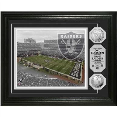 Highland Mint® Oakland Coliseum Silver Coin Photo Mint